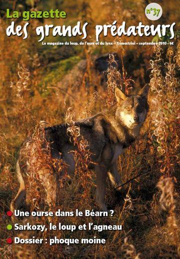 FERUS gazette des grands predateurs 37 automne 2010 2