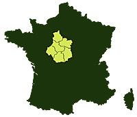 Départements : 18 – 28 – 36 – 37 – 41 – 45
