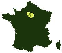 Départements : 75 – 77 – 78 – 91 – 92 – 93 – 94 – 95