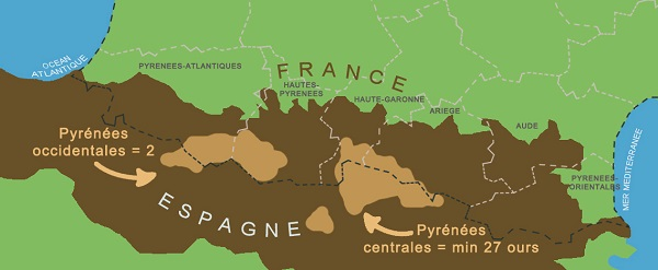 carte des pyrénées 2