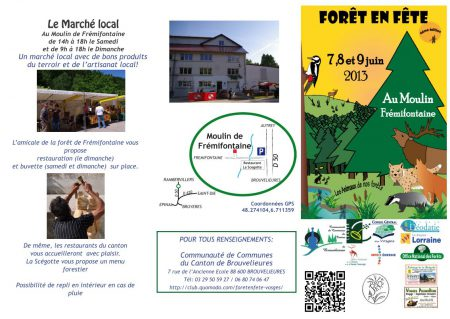 programme foret en fete 2013