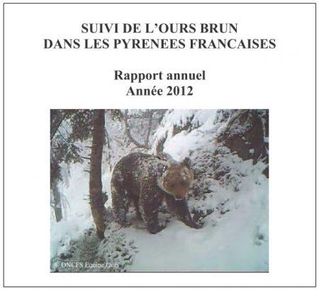 Rapport annuel ours brun Pyrénées 2012