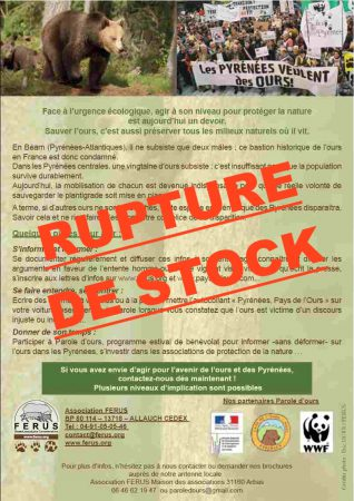 FLYER RUPTURE DE STOCK