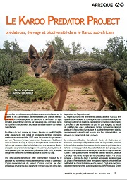 karoo predator project gazette