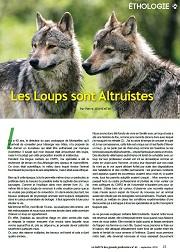 les loups sont altruistes